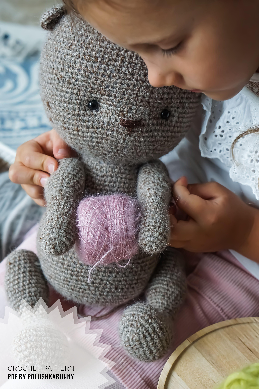 Amigurumi Theodore Doll and Teddy Bear... - Tiny Mini Design ... | 6000x4000