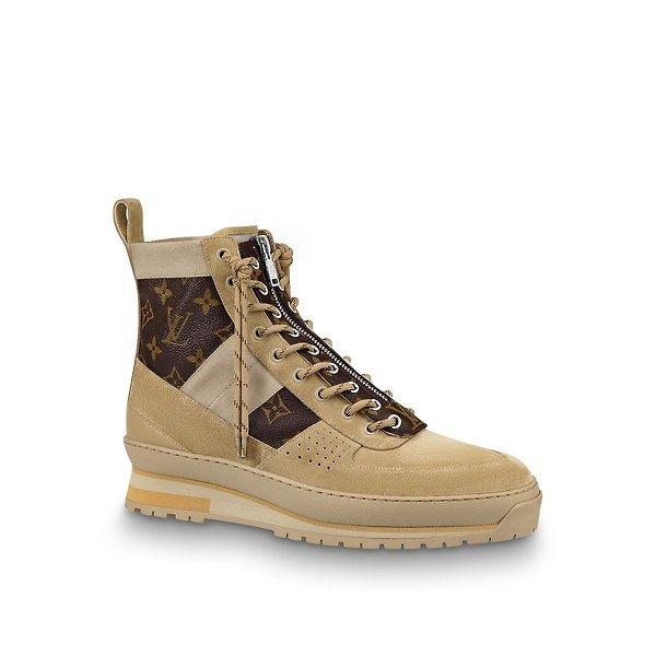fa61cdf43d LOUIS VUITTON HARLEM ANKLE BOOT. #louisvuitton #shoes | Louis ...