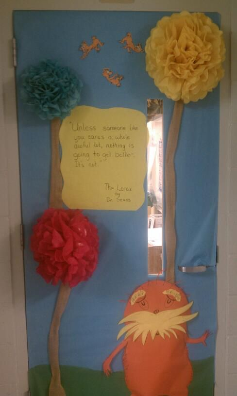 Classroom door for Dr. Suess week! | Education | Pinterest ...