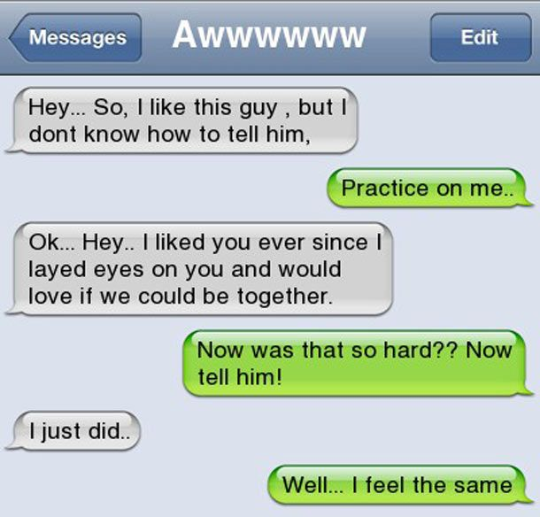 how to tell your crush you like him in person | like this guy but dont know how to tell him Urban Funny Pictures ...