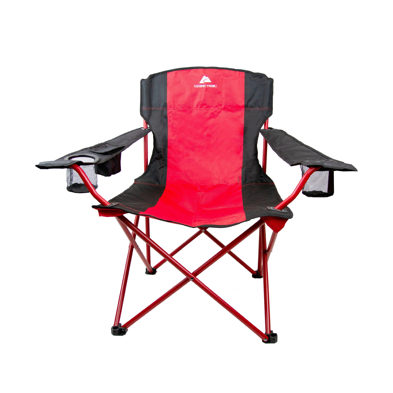 Wondrous Ozark Trail Tailgate Quad Camping Chair Walmart Com Machost Co Dining Chair Design Ideas Machostcouk