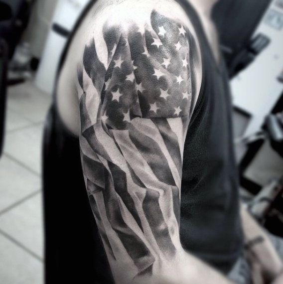Top 53 American Flag Tattoo Ideas 2020 Inspiration Guide