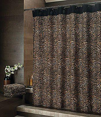 Bay Linens Safari Leopard Shower Curtain Dillards Com Leopard