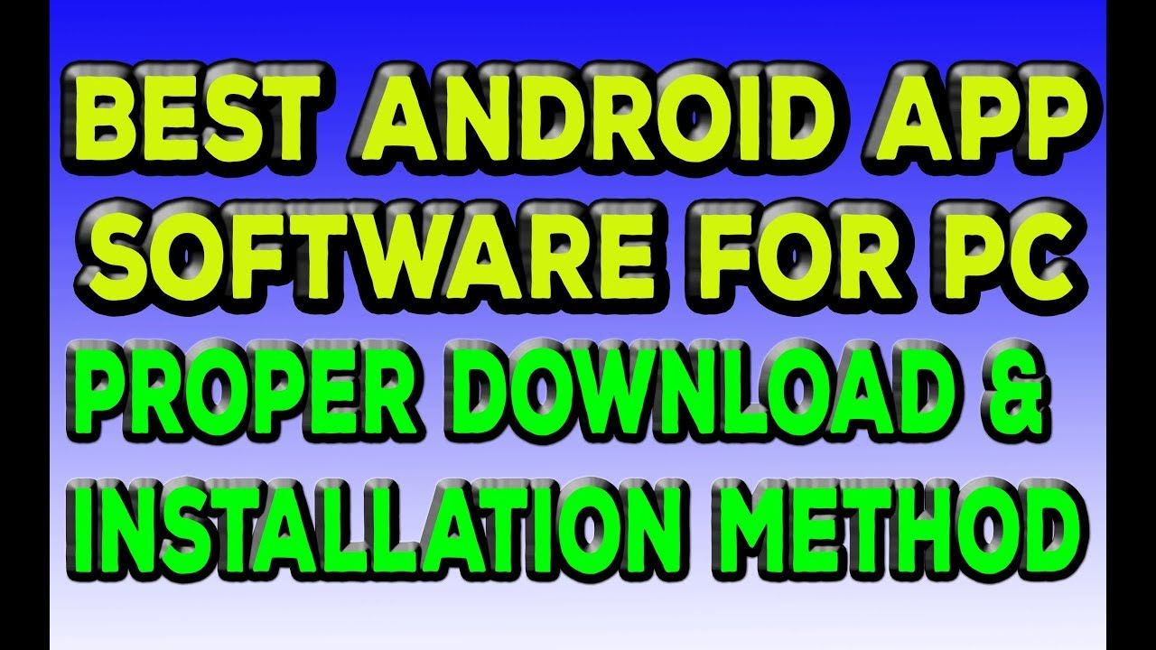 android app maker for pc free download