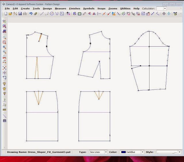 The Sewing Lab: Wild Ginger Cameo 5 Patternmaking Software Review ...