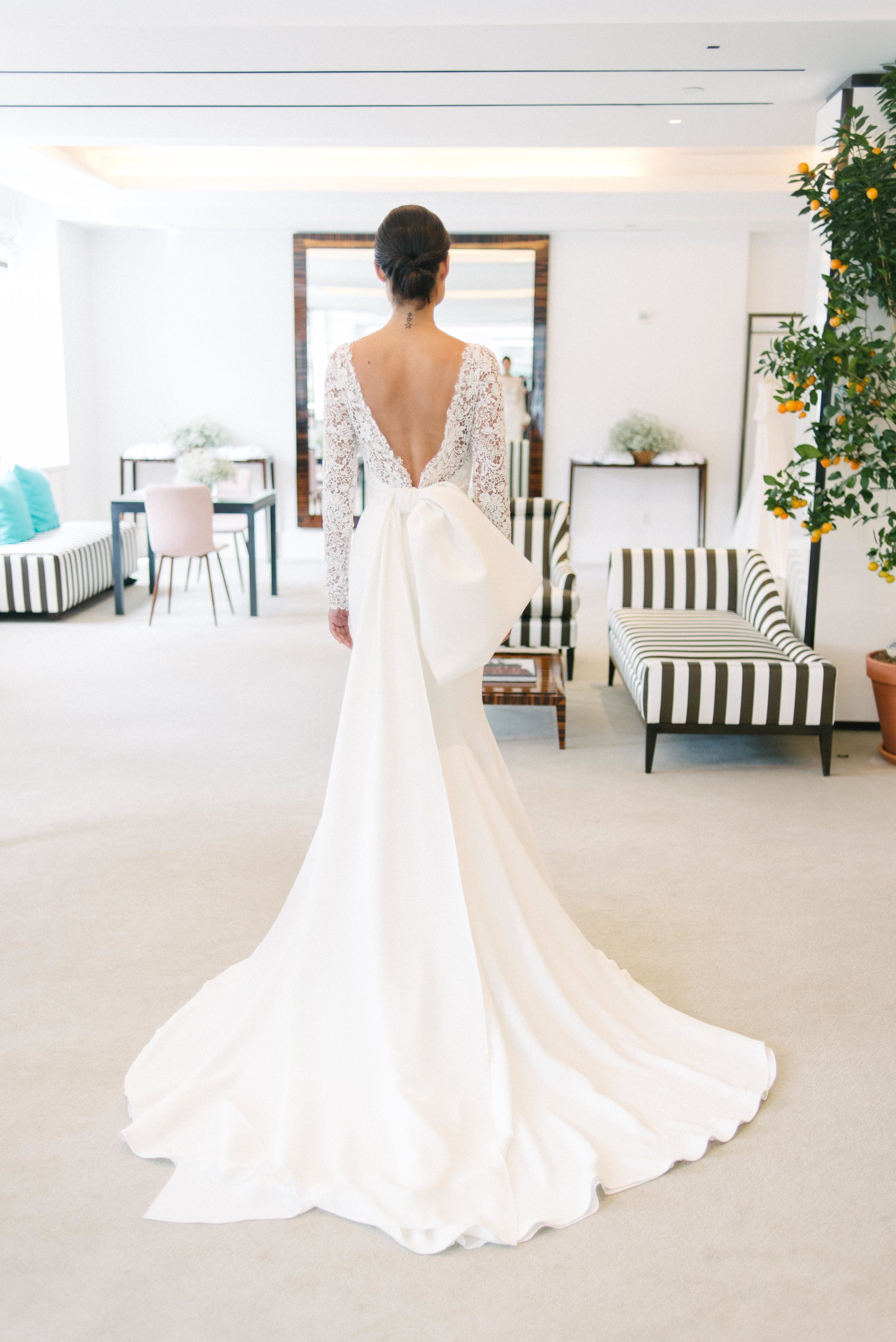 Carolina Herrera Spring 2020 Collection Preview Leyla Little White Dress Bridal White Bridal Dresses Carolina Herrera Bridal Carolina Herrera Wedding Dress