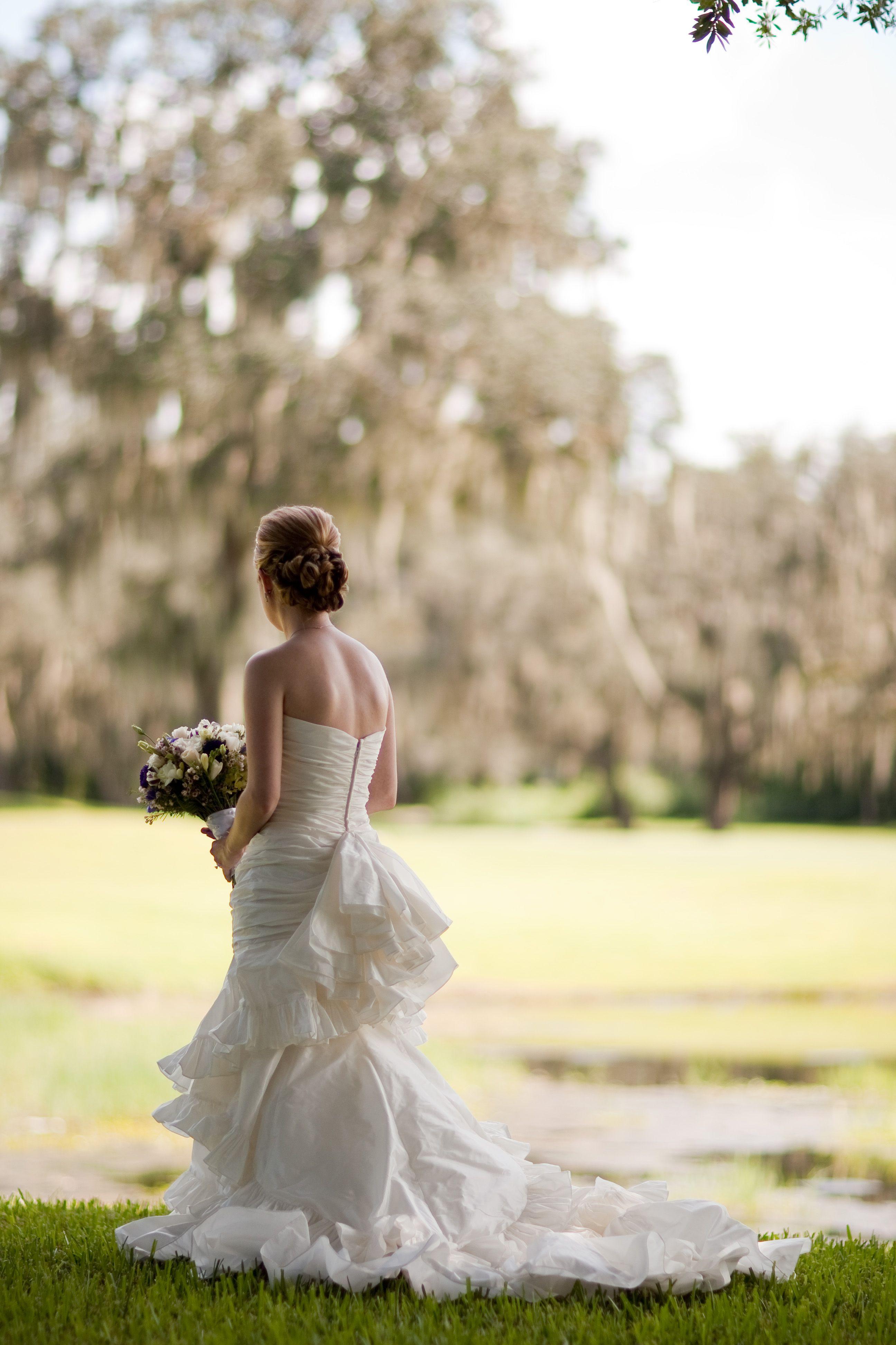 Bustle, Victorian Style wedding dress. Victorian gothic