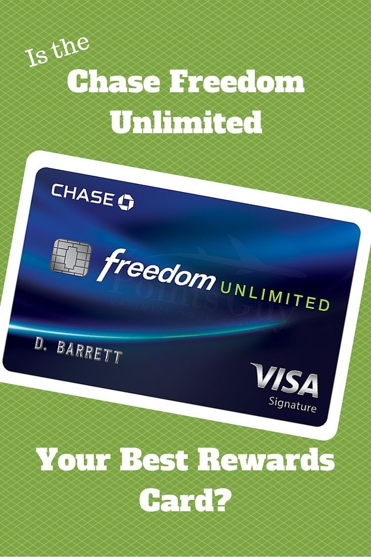 Is The Chase Freedom Unlimited Your Best Credit Card Option Www Doughroller N Http Itz My Com Good Credit Chase Freedom Best Credit Cards