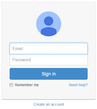 Google Style Login Page Design Using Bootstrap Gmail Sign Login