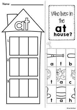Cvc Word Worksheets Word Family Worksheets Word Families Kindergarten Word Families In word family worksheets for