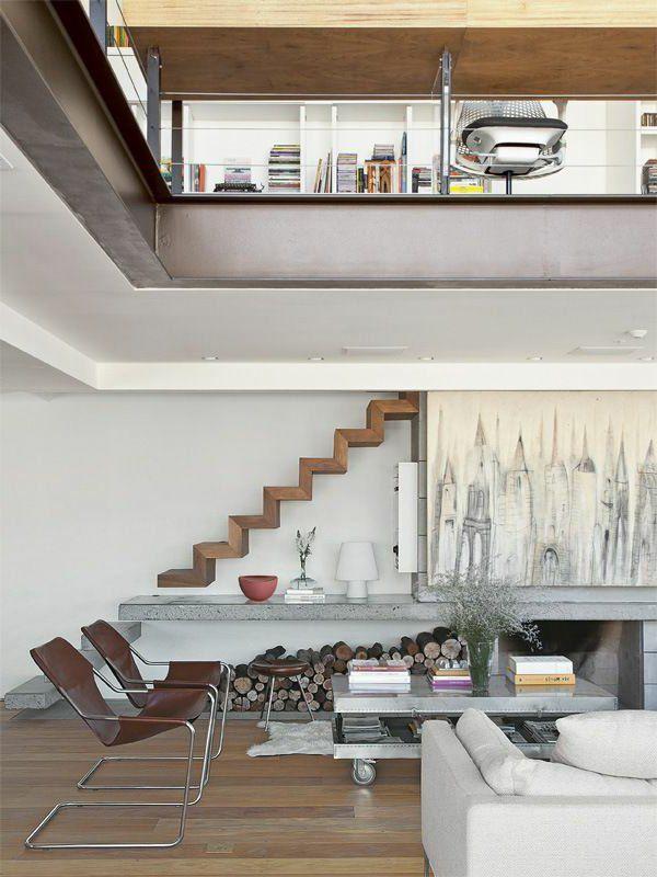 Choisir un escalier pour mezzanine pour son loft   Salons