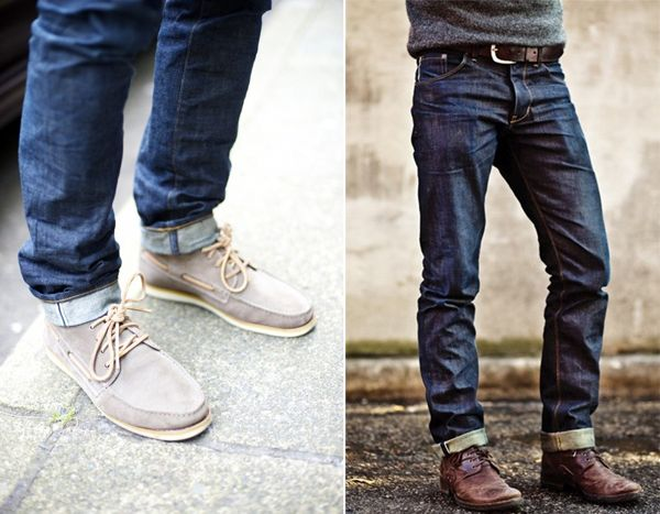 Thoughts on Men's Fashion // cuffed jeans | Menswear, Clothing and ...