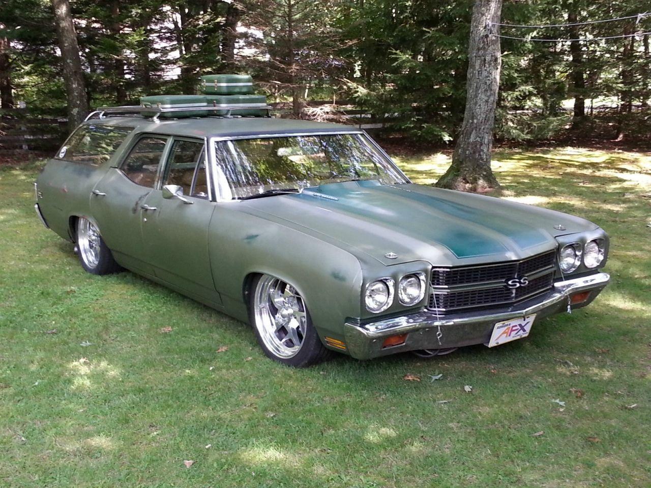 1970 Chevrolet Chevelle Wagon nomad | Chevrolet chevelle ...