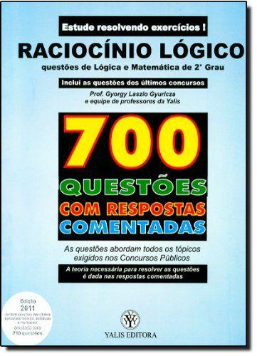Pin De Lucia Em Educacao Raciocinio Logico Questoes De Concurso