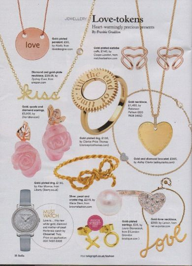 Stella Magazine - Sunday 14th December 2014 - featuring Rose Heart COOPS #coopslondon #coopspress