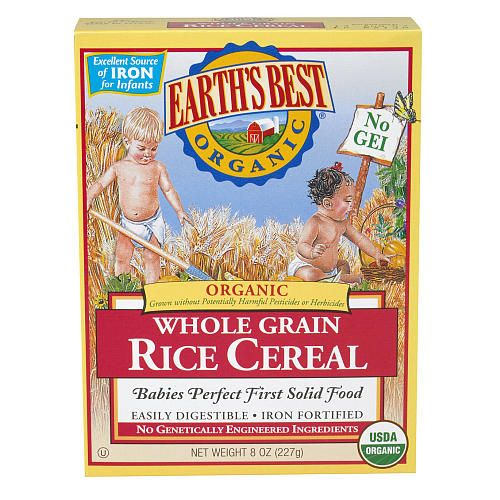 Earth's Best Organic Infant Rice Cereal