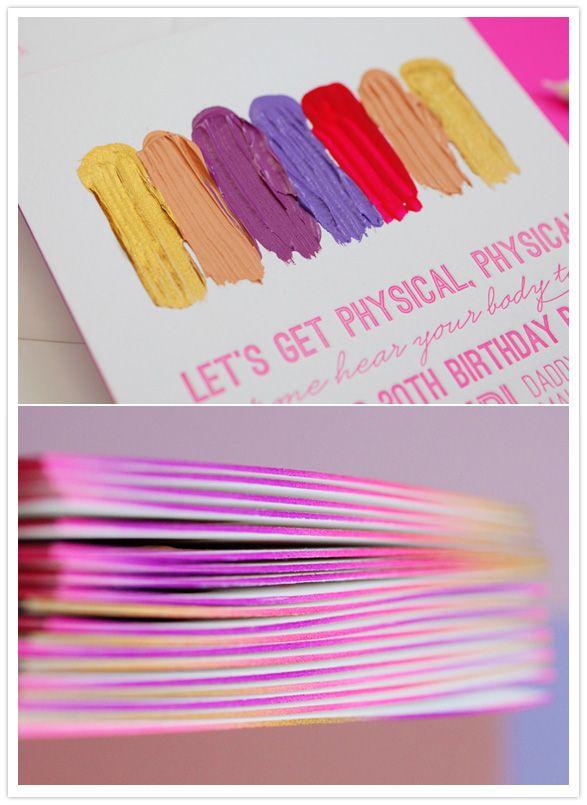 colorful birthday invite by edytaphoto HelloLucky – Birthday Invites Ideas