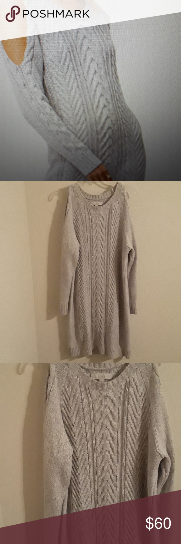 Loft Women Cable Sweater Dress Cable Sweater Dress Sweater Dress Sweaters