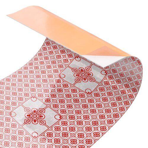 Photo of Bloomsbury Market PVC splash protection panel self-adhesive Arcola | Wayfair.de