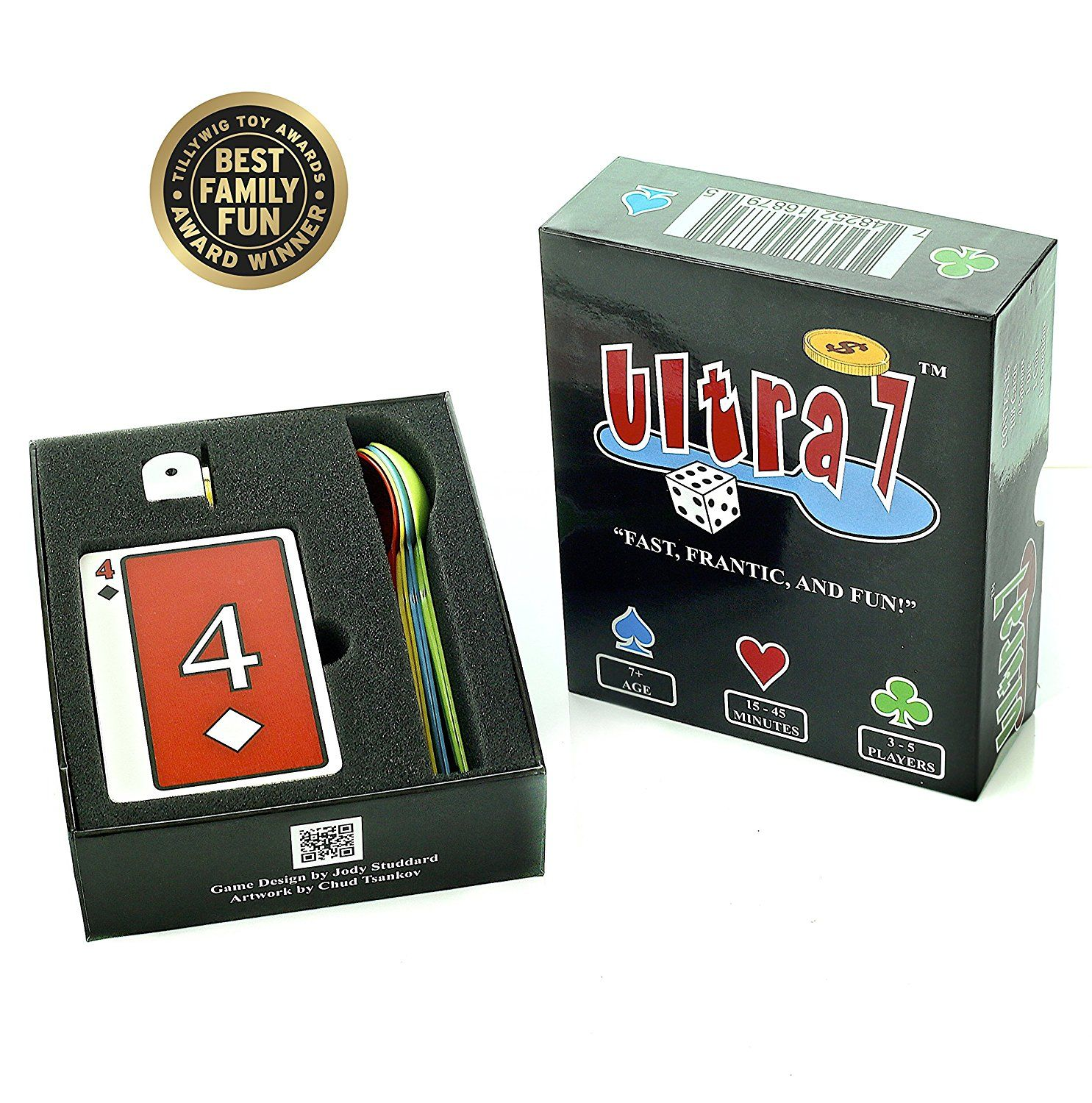 Amazoncom Ultra 7 Card Game Toys & Games Childrens