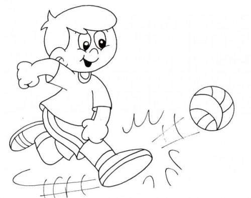 Imagenes De Ninos Jugando Futbol Para Colorear Buscar Con Google Dibujo De Ninos Jugando Deportes Para Colorear Ninos Jugando