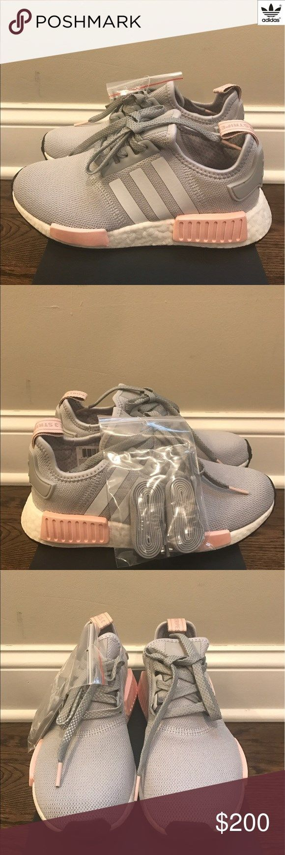 0cf6246b6c7a5 Brand New Adidas NMD R1 Women Vapour Grey Pink This listing is for Brand  New Adidas NMD Womens in Vapour Grey Pink color way. These are 100% brand  new and ...