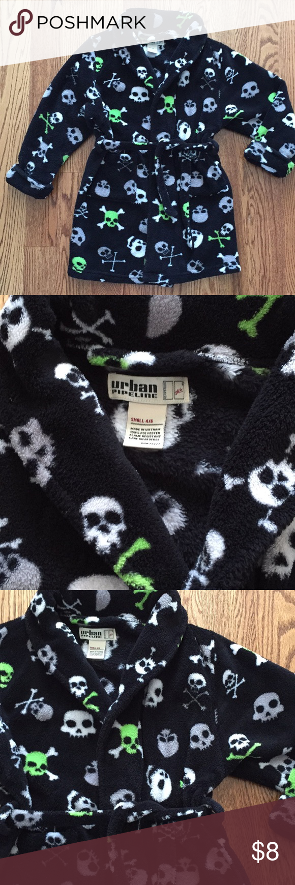 EUC! Boys Skull Robe | Pinterest | Gray green, Dressing gown and Pyjamas