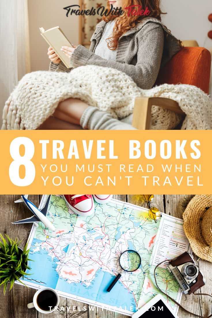 If you're unable to travel, reading travel books is the next best thing you can do. Here are 8 of my favorite wanderlust-inspiring books for travelers, featuring the best travel books to read to transport you around the world in your mind. #travel #books #wanderlust #inspiration #novels