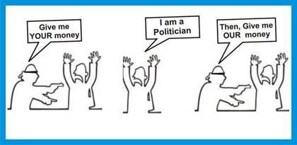 """""""Silence of People has a lot to Say.""""- #Jokes, #Quotes, #Cartoons on Politics http://malenadugroup.blogspot.in/2015/01/political-cartoons.html"""
