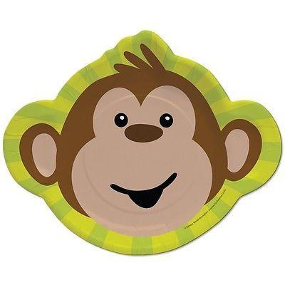 Affen Party Kindergeburtstag Deko Kinderparty Geburtstag Set Affe