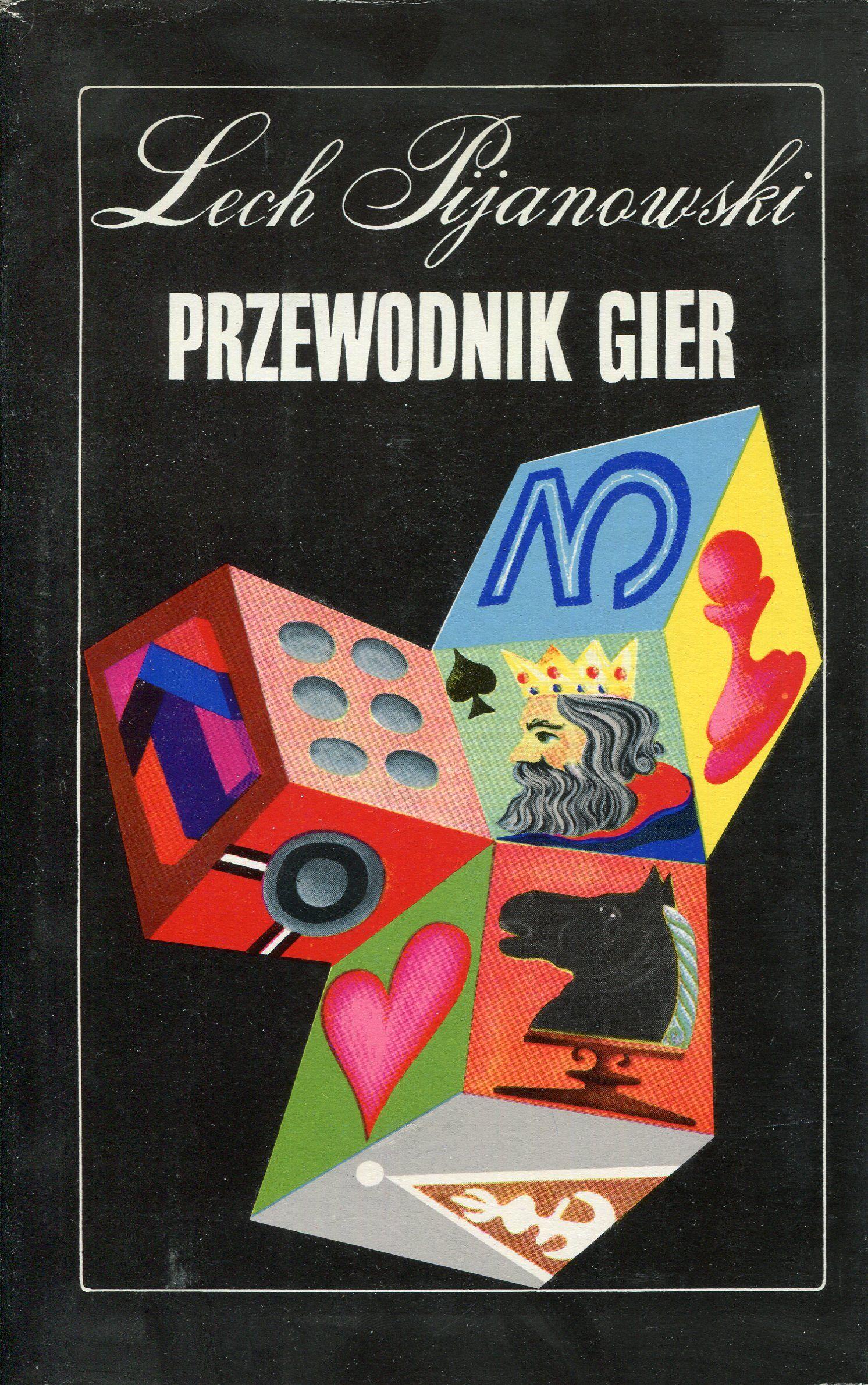 """""""Przewodnik gier"""" Lech Pijanowski Cover by Tadeusz Michaluk Published by Wydawnictwo Iskry 1972"""