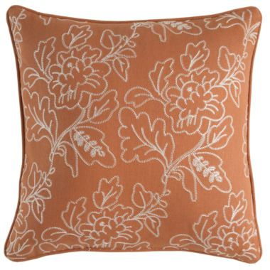 JCPenney Home™ Sienna Square Decorative Pillow Found At JCPenney Extraordinary Jcpenney Home Decor Accents