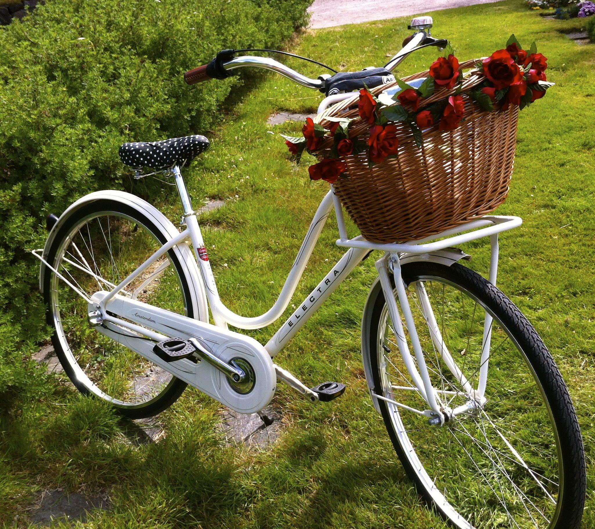 Electra Amsterdam Original 3i Cream Electra Amsterdam Basket