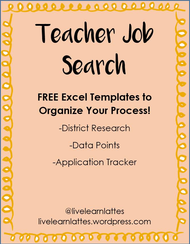 Free Teaching Job Search Templates Teaching Jobs Teaching