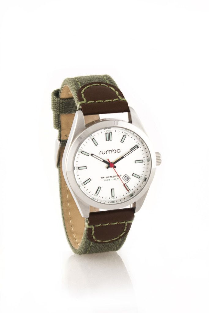 Father's Day 2014 Gift Guide | RumbaTime Bowery Watch, $95