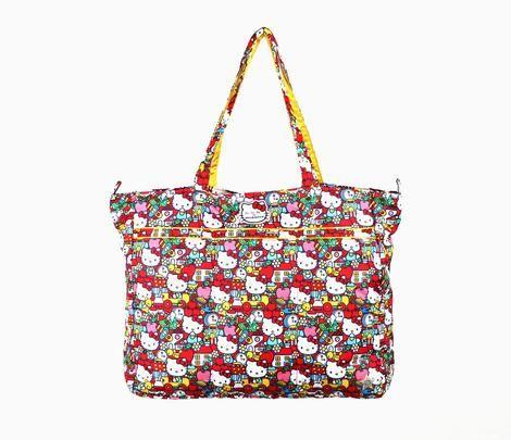 c30c22fdebdb Ju-Ju-Be x Hello Kitty Tote Bag  Super Be