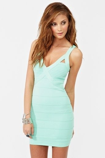 c89ab06cb2e2 tiffany blue cutout bodycon dress
