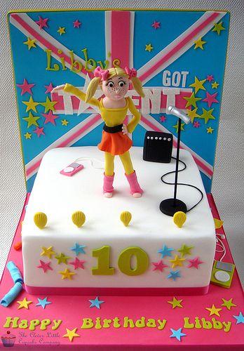 Britain's Got Talent Birthday Cake