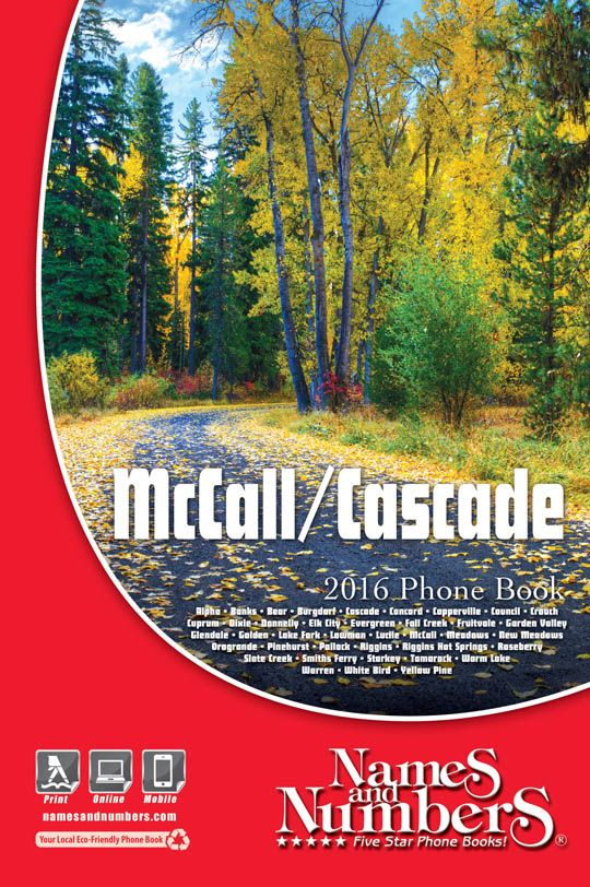 Southwest Idaho (ID) Online Phone Book