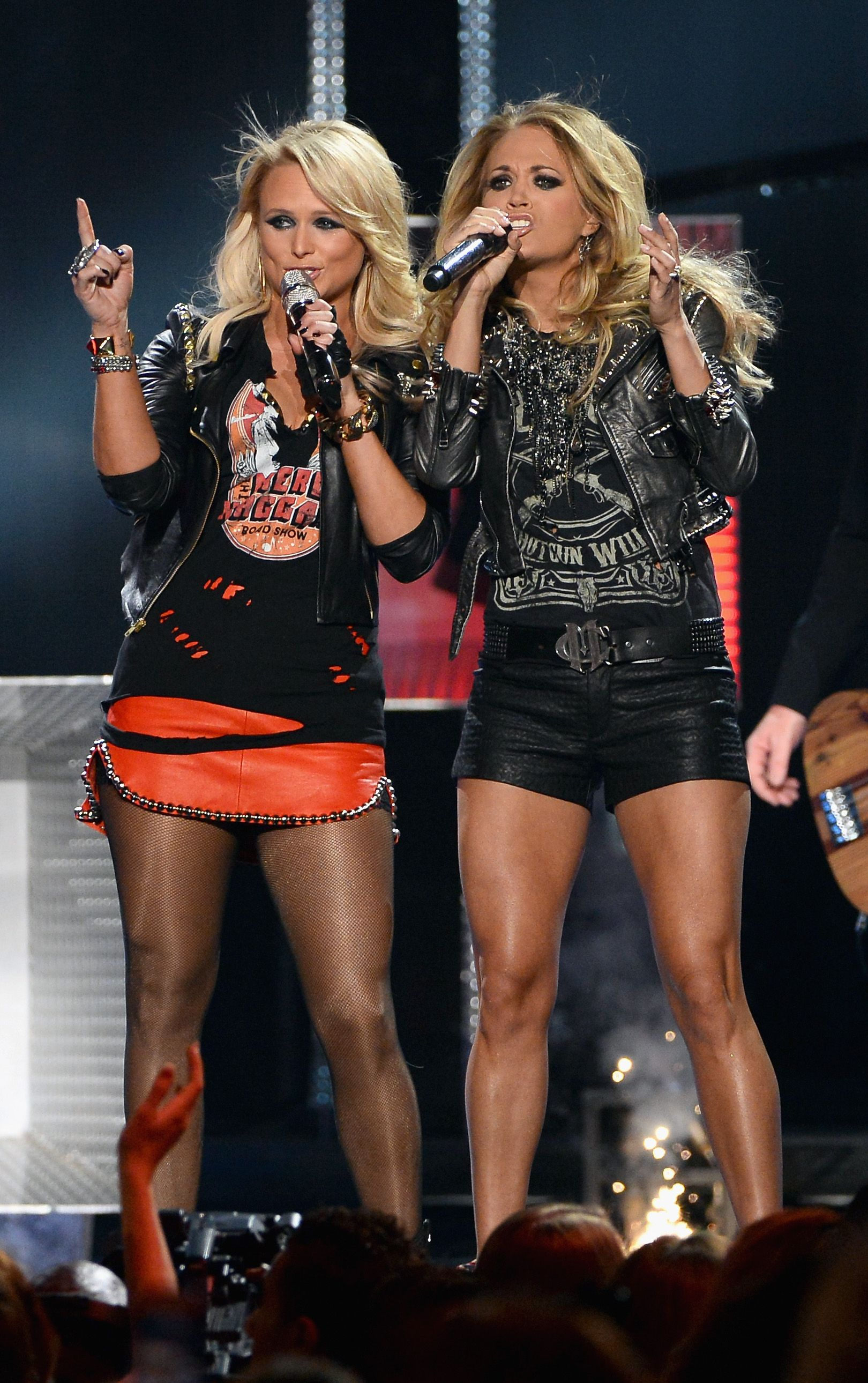 Carrie Underwood Miranda Lambert Cmt