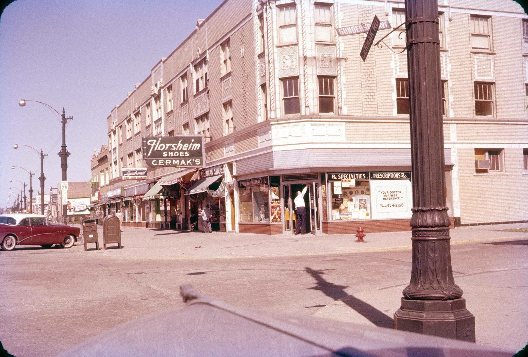 Berwyn Illinois 1955 This Is The North West Corner Of Cermak Road And Gunderson Avenue Berwyn And Neighb Berwyn Illinois Chicago Architecture Cicero Illinois