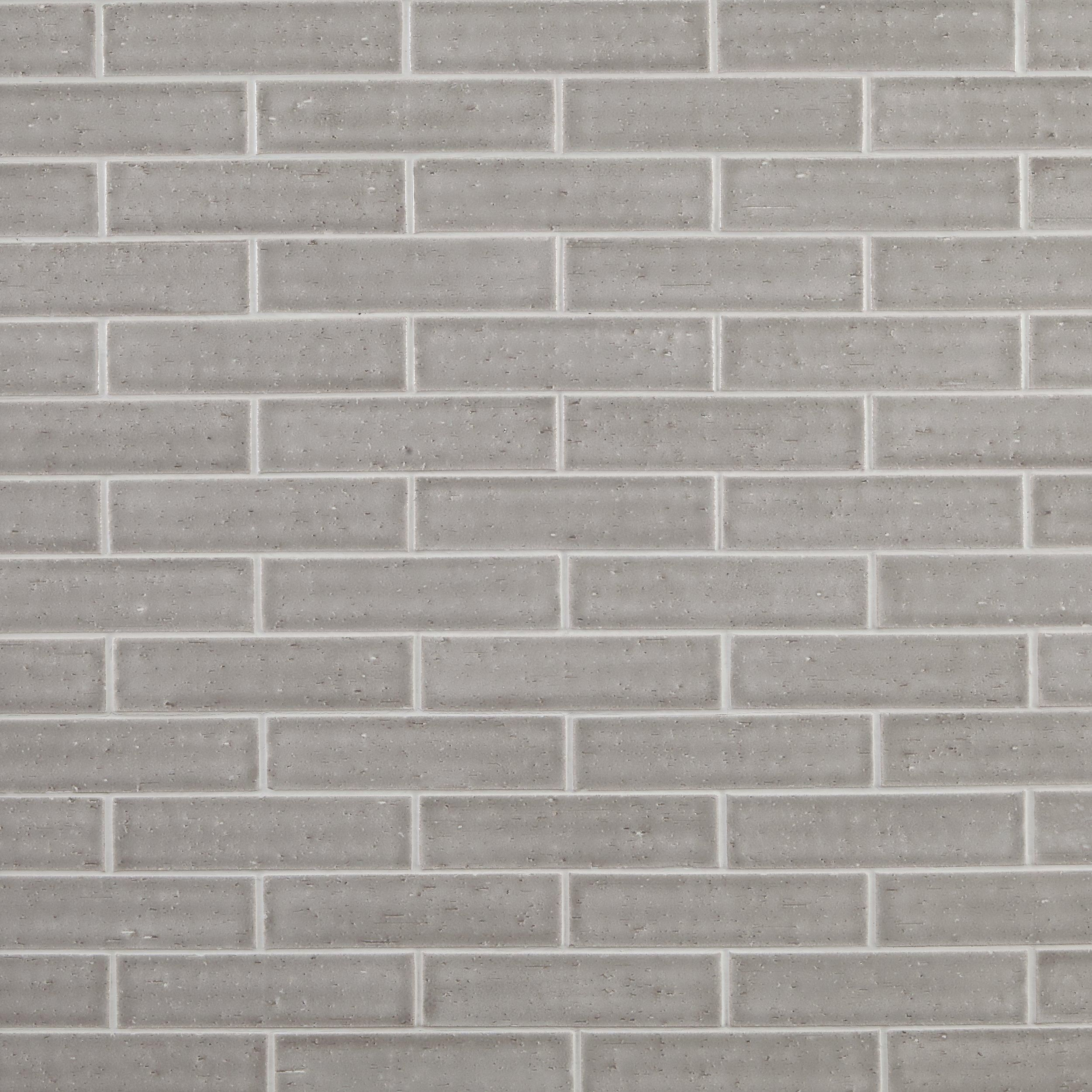 Gray Brick Ceramic Tile In 2019 Products Tiles Grey