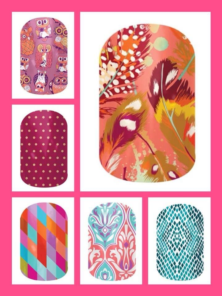More of our newbies! Such vibrant colors I can't be without!  jmitch.jamberrynails.net
