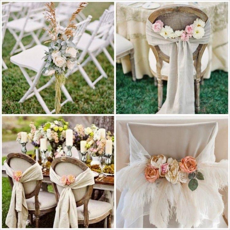 Decorar sillas de boda con flores ni os arras for Sillas para matrimonio