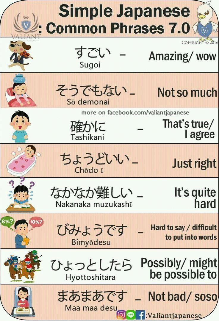 Positive und negative Empfindungen auf Japanisch