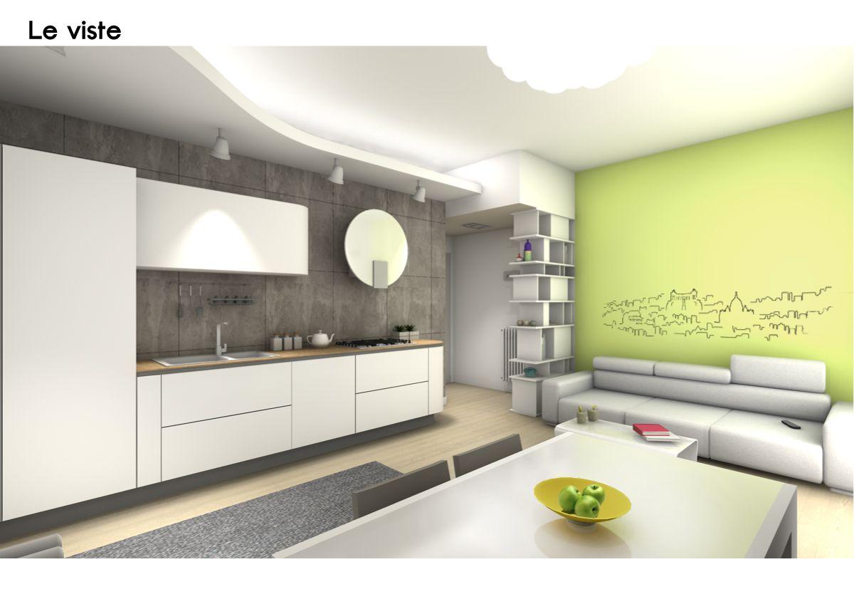 Spazio 14 10 architettura interni low cost roma for Cucine low cost roma