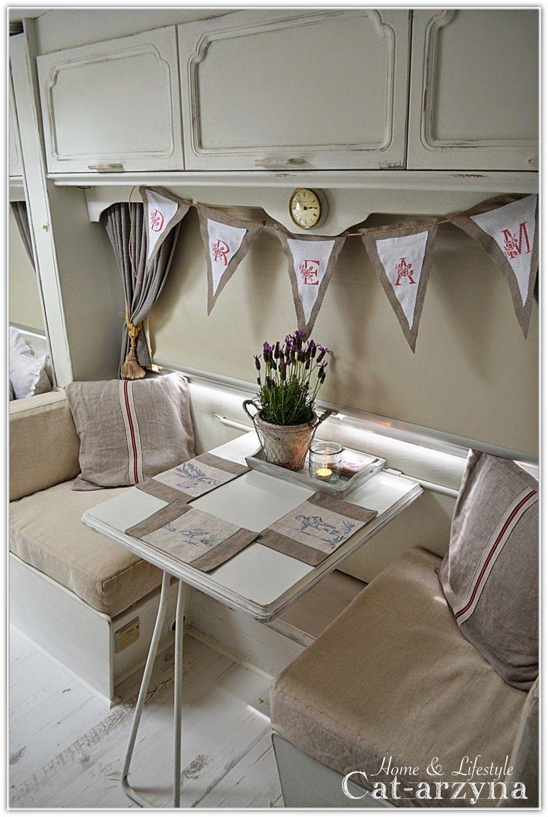 Cottage caravana pinterest decoraci n de caravana interiores de caravanas y caravana retro - Decoracion interior caravanas ...