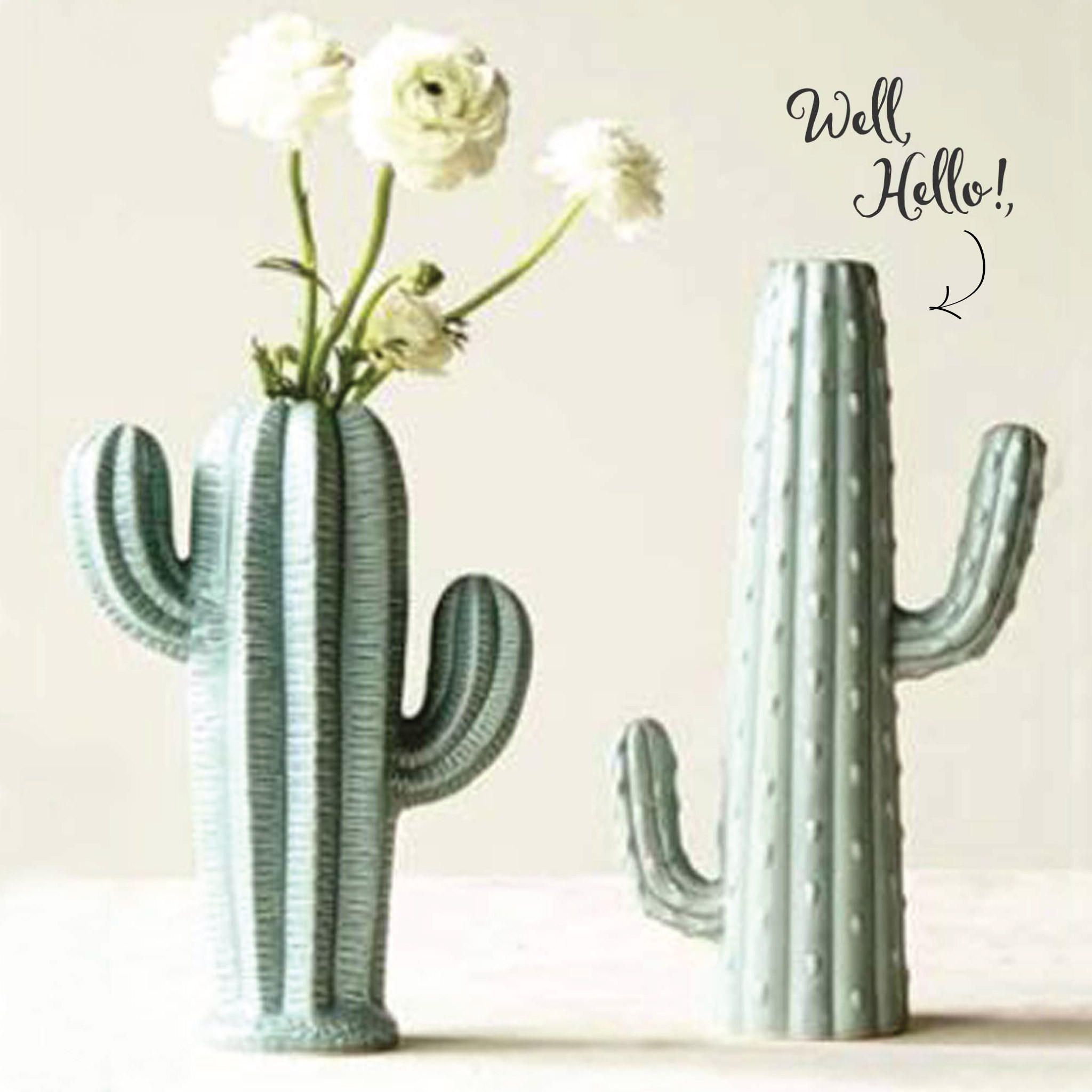 Stoneware Cactus Vase 2 from Spool No.72. Saved to Things