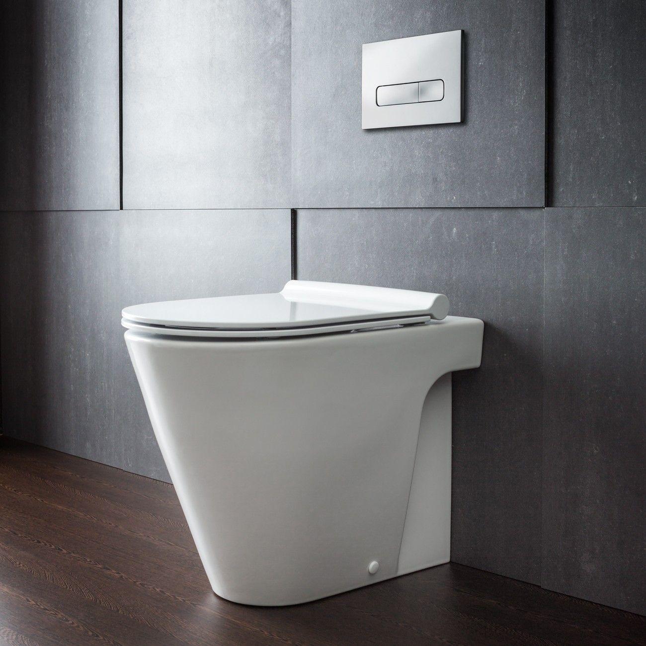 catalano zero  floor mount toilet pan with slim seat  - a revolution in toilet design the zero  floor mount toilet by catalanois a clean and contemporary premium toilet designed on a 'rounded matrix'