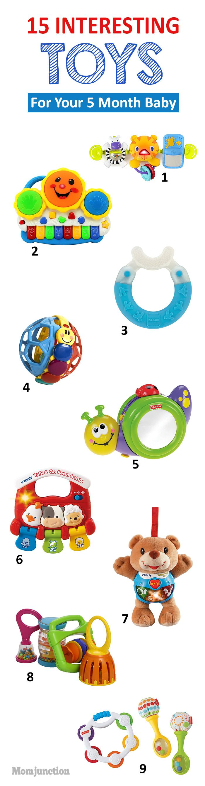 15 Interesting Toys For Your 5 Month Old Baby Baby Stuff Baby 5